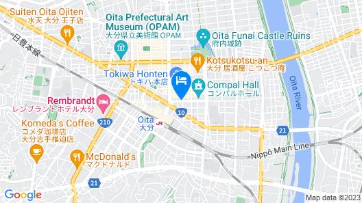 Oita Regal Hotel Map