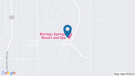 Borrego Springs Resort & Spa Map