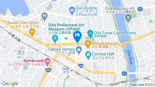 Hotel MyStays Oita Map