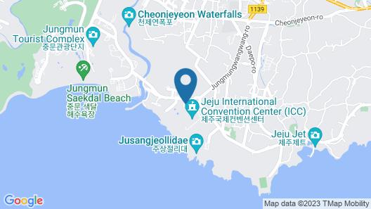 Jeju Booyoung Hotel & Resort Map