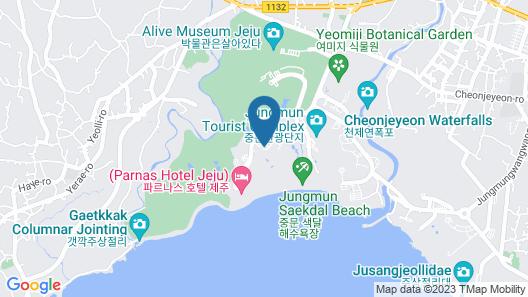 The Shilla Jeju Map