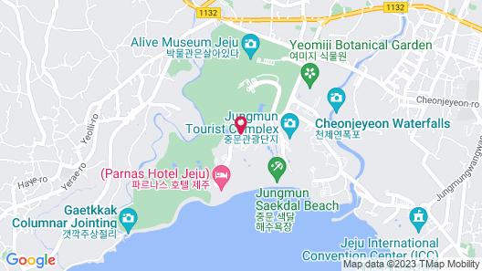 The Suites Hotel Jeju Map