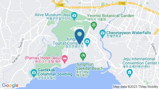Lotte Hotel Jeju Map