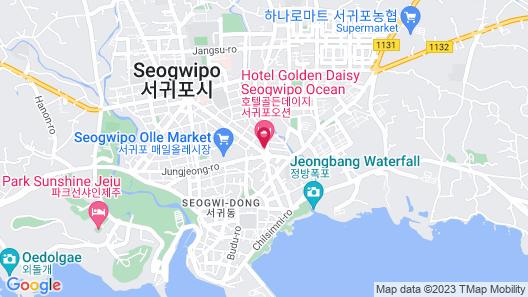 Days Hotel by Wyndham Jeju Seogwipo Ocean Map