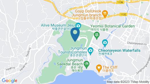 Grand Josun Jeju Map