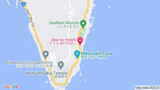 HOTEL Akenohoshi Map
