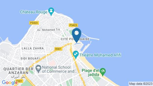 Riad Ksar El Jadida Map