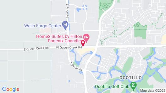 Home2 Suites by Hilton Phoenix Chandler Map