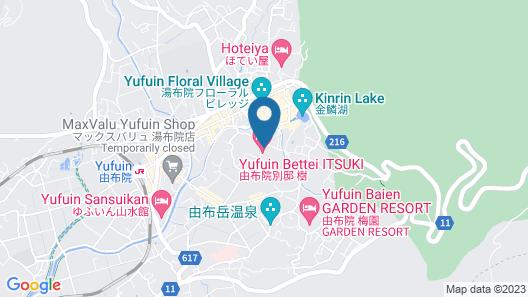 Yufuin Bettei Itsuki Map