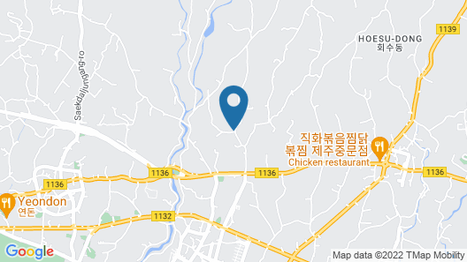 Jejueco Suites Map