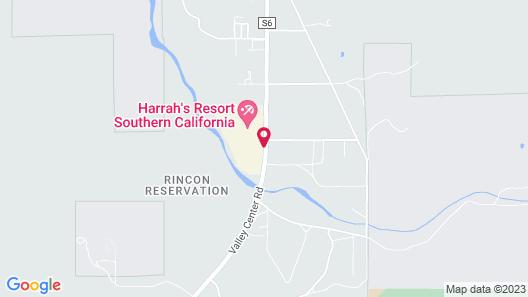 Harrah's Resort Southern California Map