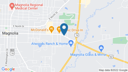 Holiday Inn Express Hotel & Suites Magnolia-Lake Columbia, an IHG Hotel Map