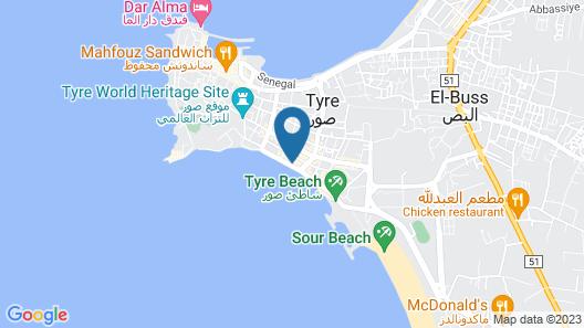 Murex Hotel Map