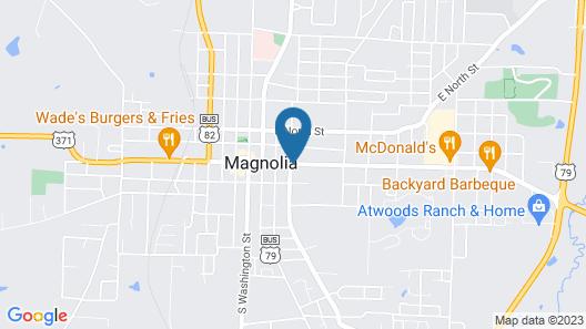 Quality Inn Magnolia Map