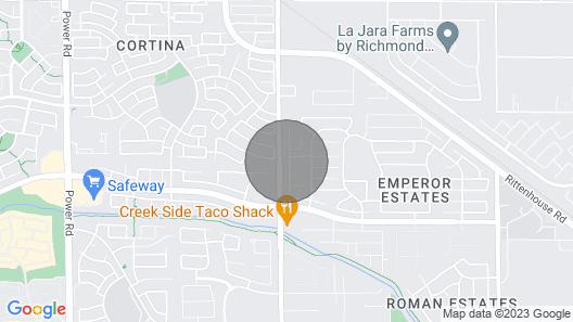 Guest Suite Apartment, Queen Creek, AZ Map