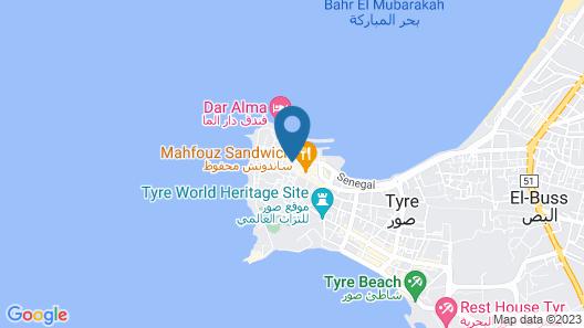 Dar Camelia Map