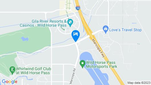 Wild Horse Pass Hotel & Casino Map