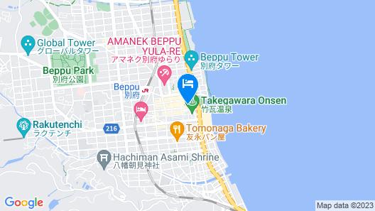 Nogamihonkan Ryokan Map