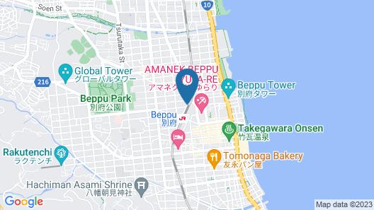 Beppu Daiiti Hotel Map