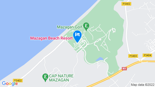 Mazagan Beach & Golf Resort Map