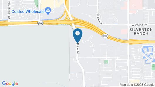 Drury Inn & Suites Phoenix Chandler Fashion Center Map