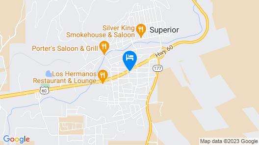 Copper Mountain Motel Map