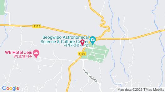 Club ES Jeju Resort Map