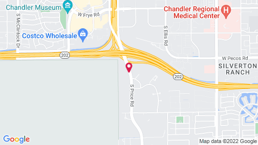 Courtyard Phoenix Chandler/Fashion Center Map