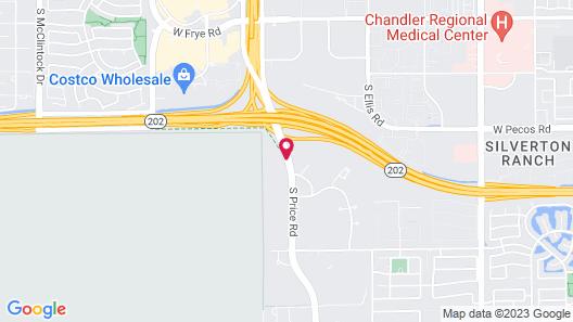 Fairfield Inn & Suites Phoenix Chandler / Fashion Center Map