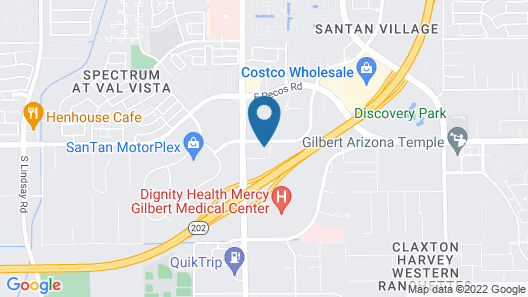 Home2 Suites by Hilton Gilbert Map