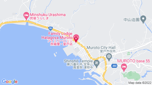 Family Lodge Hatagoya Muroto Map