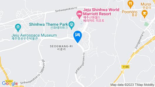 Shinhwa Jeju Shinhwa World Hotel & Resorts Map
