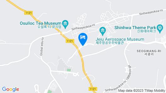 Jeju Aerospace Hotel Map