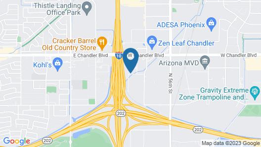 Comfort Inn Chandler - Phoenix South I-10 Map