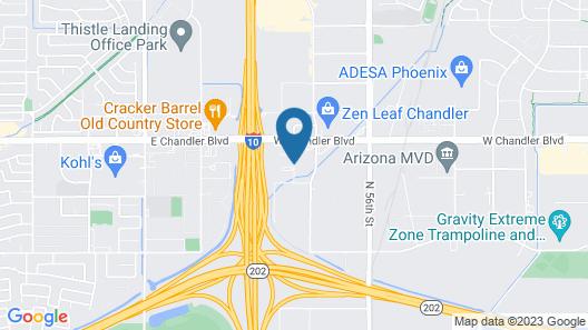 Country Inn & Suites by Radisson, Chandler, AZ Map