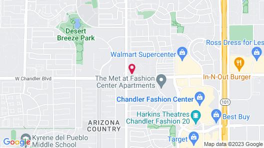 Staybridge Suites Phoenix - Chandler, an IHG Hotel Map