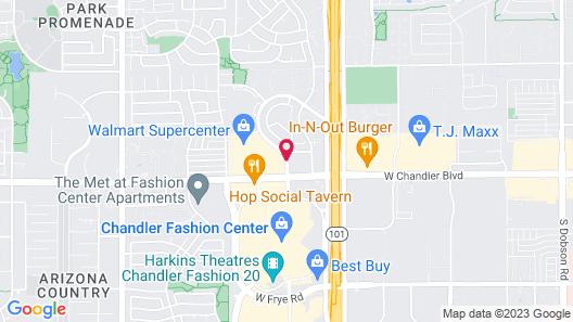 Springhill Suites by Marriott Phoenix/Chandler Map