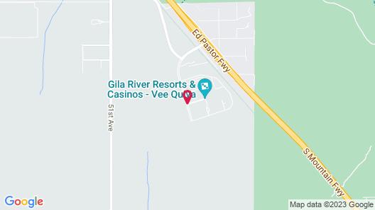 Vee Quiva Hotel & Casino Map