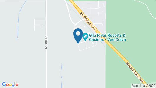 Vee Quiva Hotel & Casino Map
