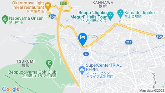 MORINOYU RESORT Map