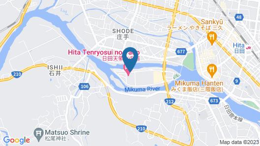 Kanponoyado Hita Map