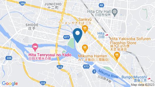 Yasuragi Guest House & Bar Map