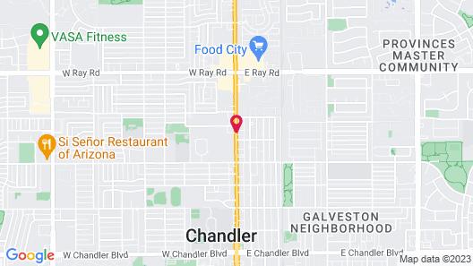Chandler Inn Map