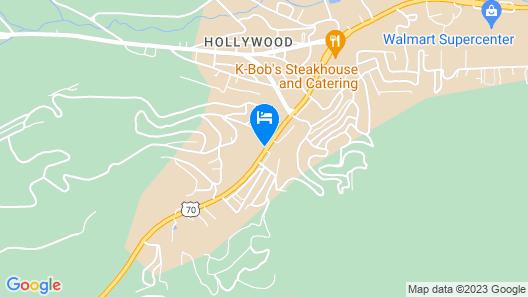 Motel 6 Ruidoso, NM Map