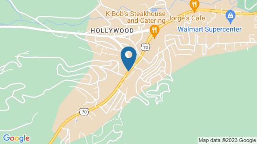 Pinecliff Village Map