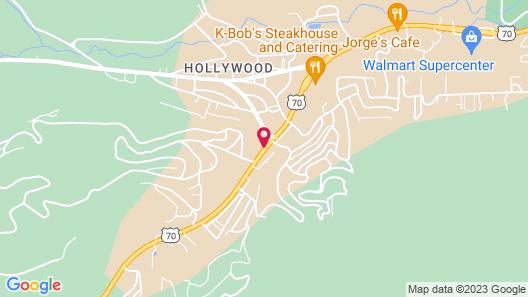 Ruidoso Mountain Inn Map