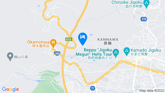ANA InterContinental Beppu Resort & Spa, an IHG Hotel Map