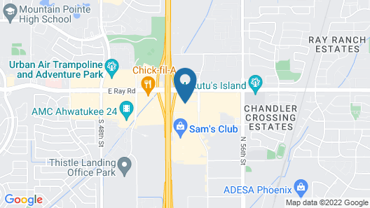 Sonesta Select Phoenix Chandler Map
