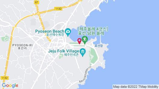 Haevichi Hotel and Resort Jeju Map