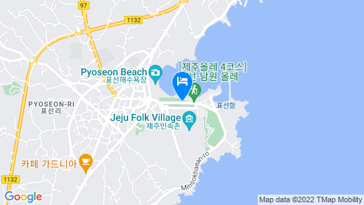 Haevichi Hotel and Resort Jeju Map